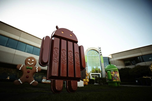 Android 4.4 KitKat supports devices with just 512MB of RAM