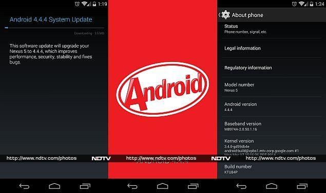 Android 4.4.4 KitKat Update Now Rolling-Out to Nexus Devices in India