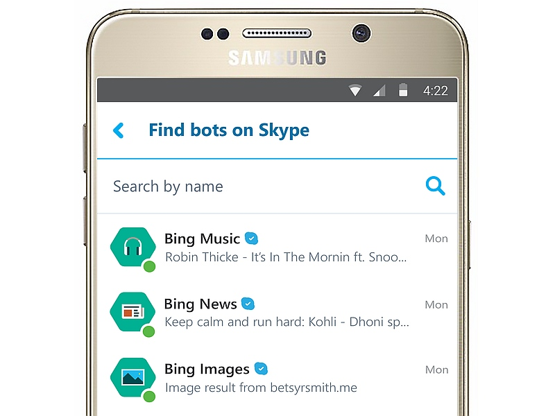 Microsoft Unveils Skype Bots Powered by Cortana