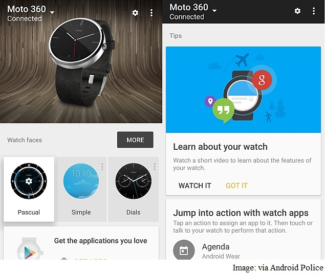 Android Wear Companion App v1.1 Update Brings Revamped UI, New Features