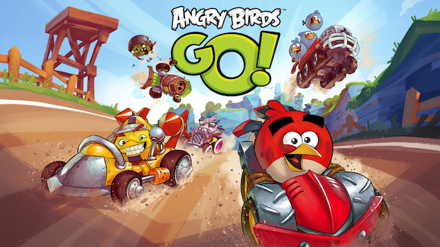 angry birds go now available as a free download on leading mobile