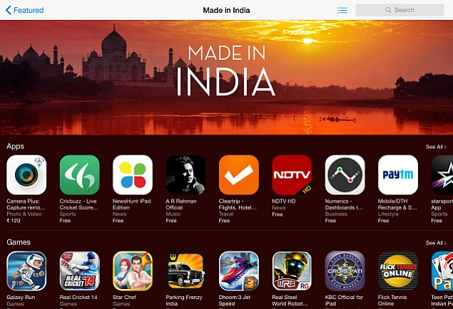 Apple Highlights Made in India Apps and Games on the App Store