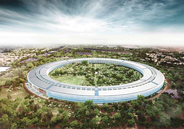 Apple's spaceship campus gets go-ahead from Cupertino authorities