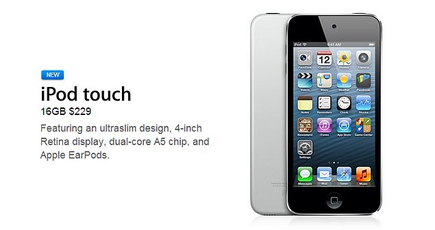 Apple launches new 16GB iPod touch variant for $229