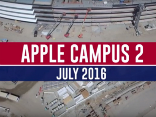 Watch: Drone Footage of Apple's 'Spaceship' Campus That's Nearing Completion