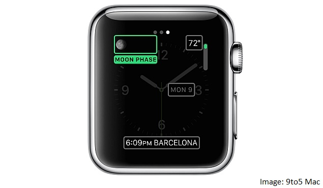 how to add complications on apple watch
