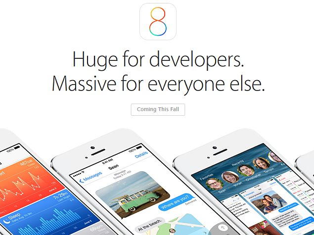 Apple iOS 8 SDK Introduces HealthKit, HomeKit and Touch ID APIs
