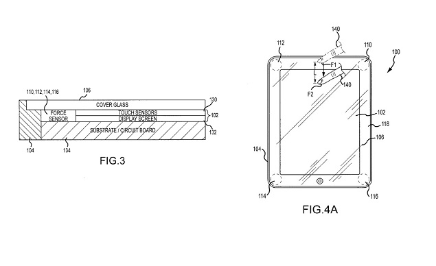 Apple gets 'sapphire window' and pressure-sensitive display patents granted