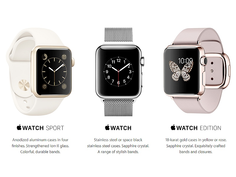Apple Watch Launched in India Starting at Rs. 30,900