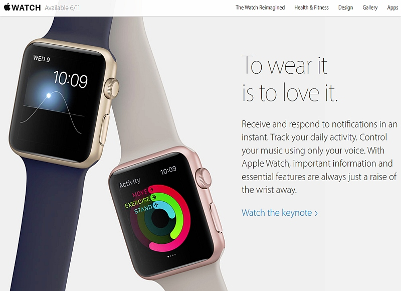 Apple Watch to Launch in India on November 6
