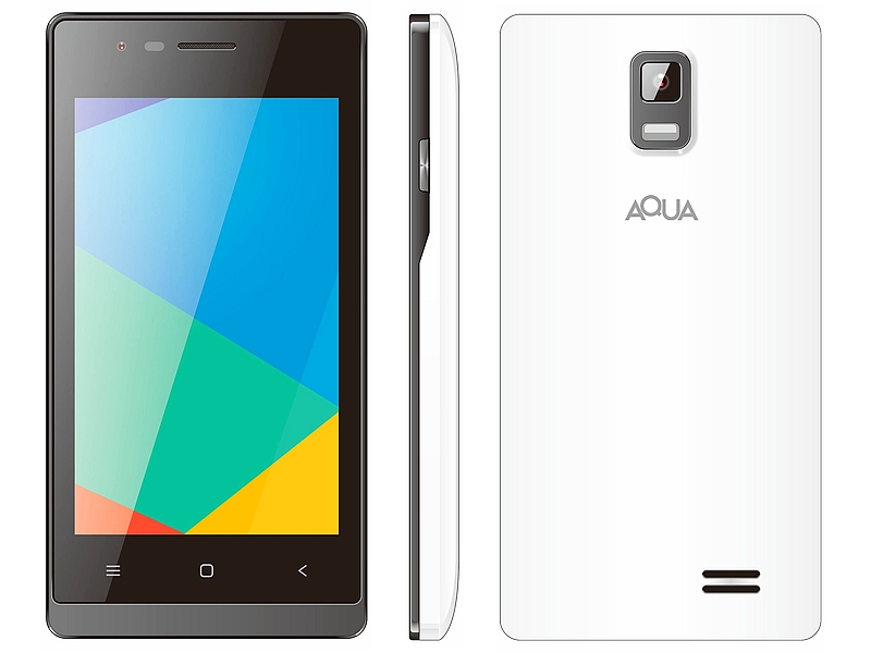 Aqua 3G 512 With 3G Support, 4-Inch Display Launched at Rs. 2,699