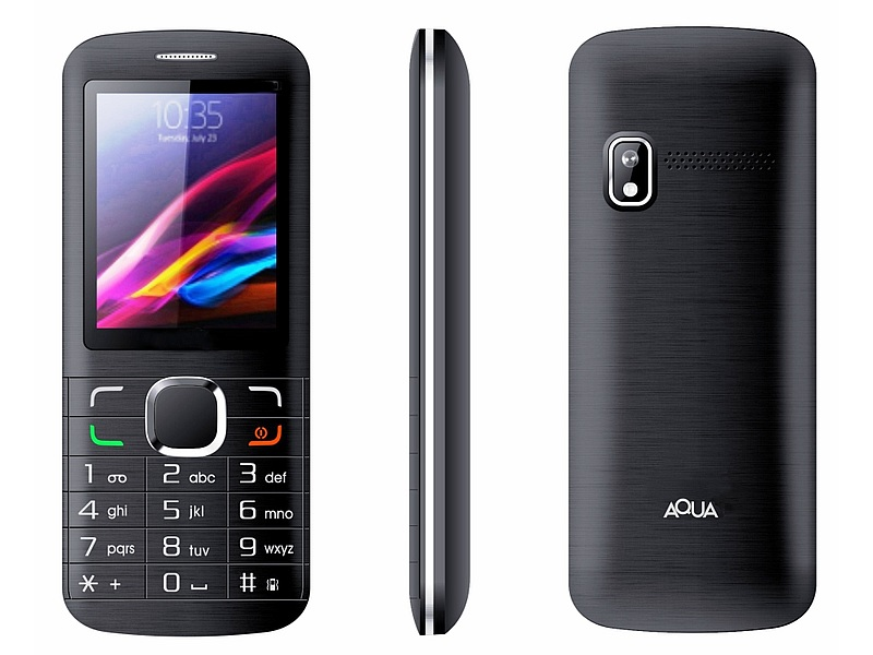 Aqua Pearl Feature Phone With 1600mAh Battery Launched at Rs. 999