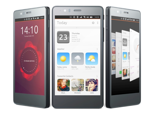 Canonical and BQ Launch the Second Ubuntu Smartphone