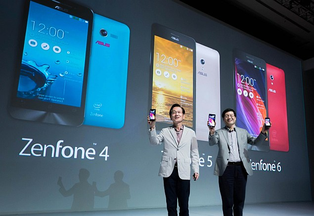 Asus ZenFone 4, ZenFone 5 and ZenFone 6 smartphones launched