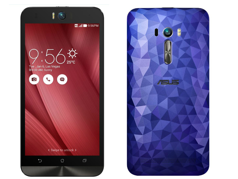 Asus ZenFone Selfie Variant With Diamond Cut Back, 3GB RAM Launched at Rs. 12,999