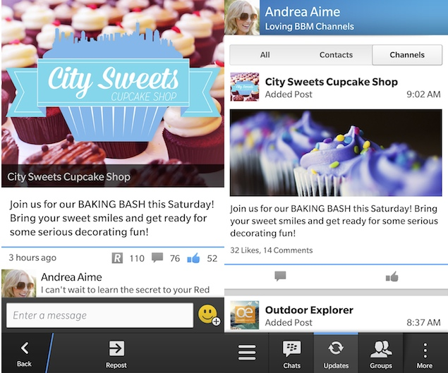 BBM Channels now available for all BlackBerry device users