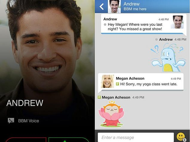 BBM 2.2 for iOS Now Available for Download From App Store
