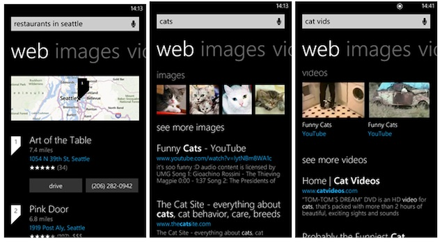 Microsoft updates Bing search on Windows Phone with new features and UI
