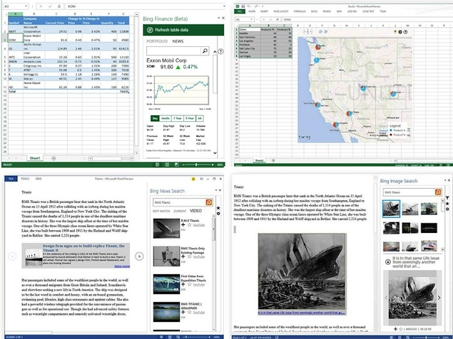 Microsoft' new Bing Apps for Office 365 provide Maps, Stock data in Excel, and more