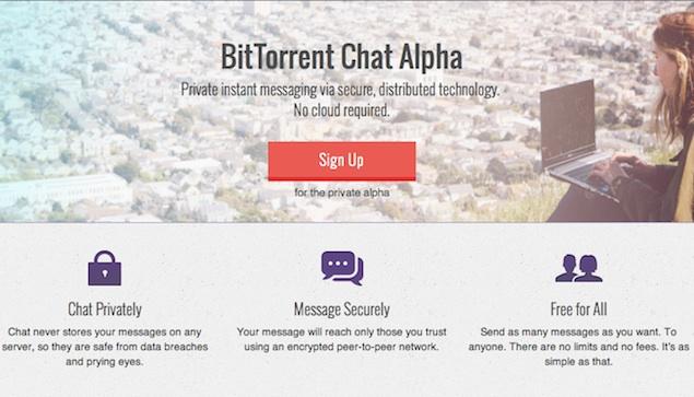 BitTorrent announces server-less secure messaging service