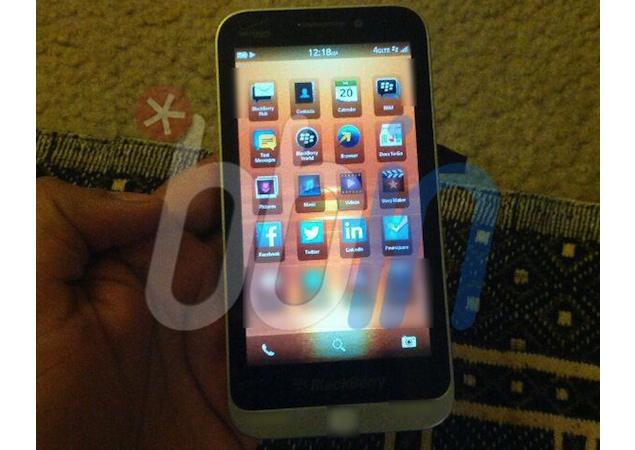 BlackBerry C-series entry-level full-touch BB10 handset gets leaked