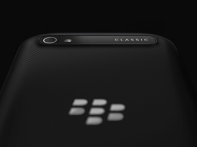 BlackBerry Classic Camera Features Revealed; White Colour Tipped