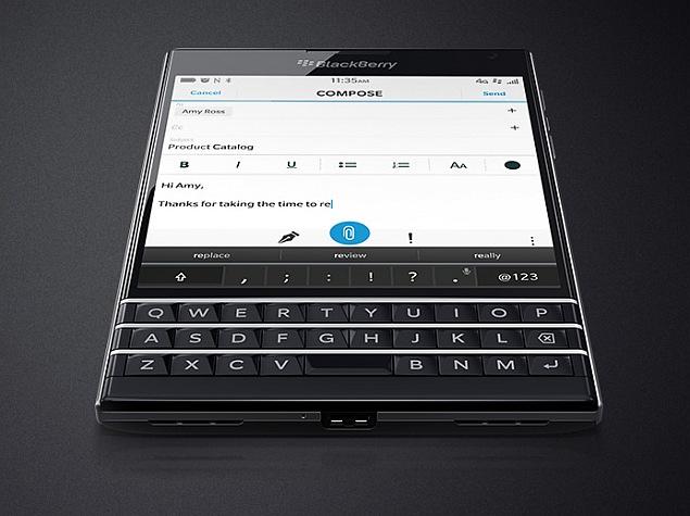 BlackBerry Settles Patent Dispute With Ryan Seacrest's Typo
