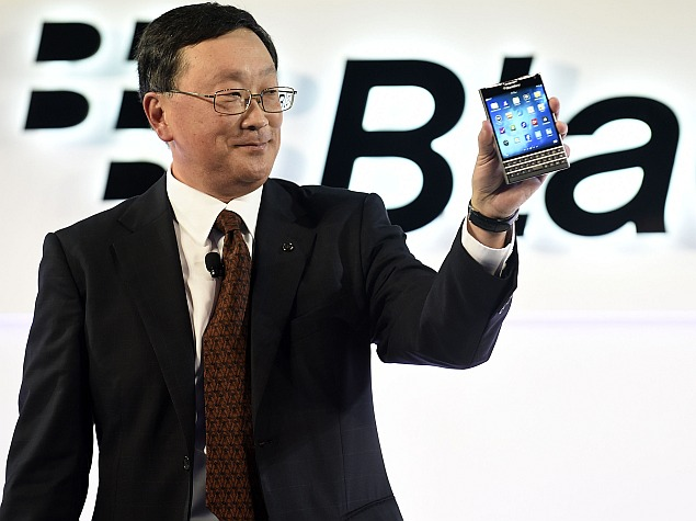 BlackBerry Launches Another Comeback Bid With Square-Screen Passport