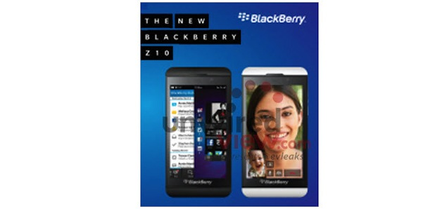BlackBerry Z10 reportedly set to be unveiled as first BlackBerry 10 smartphone