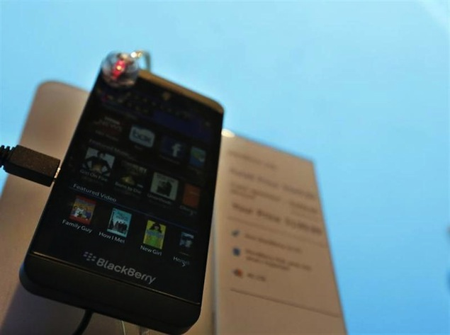 BlackBerry Z10 reportedly off to a 'flat' start in the US