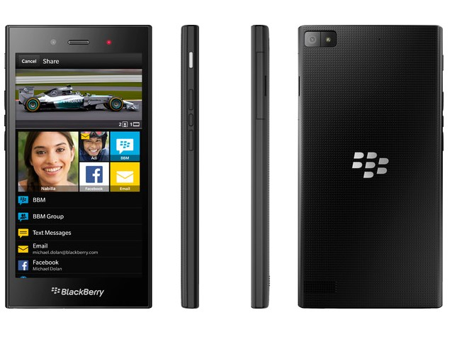BlackBerry Z3 With 5-Inch qHD Display Launched at Rs. 15,990