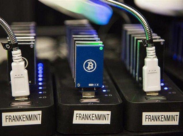 Bitcoin mining spawns lucrative specialized hardware industry