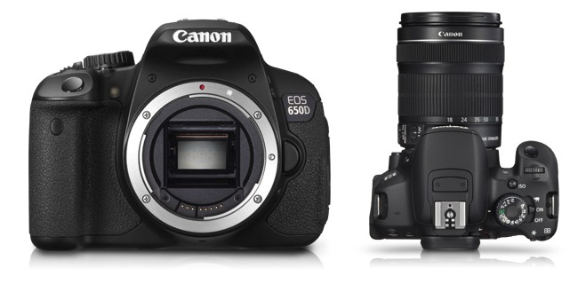 Canon launches EOS 650D in India at Rs. 55,995