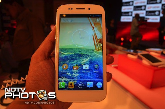 Micromax Canvas 4: First Impressions