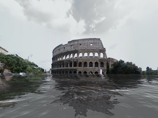 See Your City Flooded on Google Maps in Global Warming Simulation