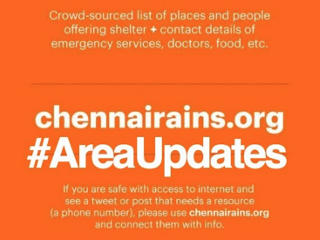 Inside Chennairains.org and How Tech Helped Face Disaster