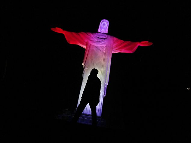 Rio's Christ Statue Will Be Lit-Up for Twitter's World Cup Campaign