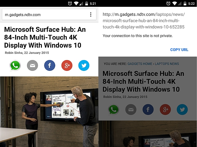 Google Chrome 40 for Android Brings New Bookmarks Manager and More