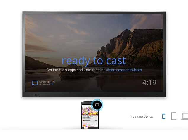 Google I/O 2014: Chromecast Gets Android Mirroring, Backdrop and More