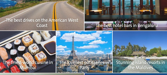 Cleartrip launches visually-appealing travel guides, Collections
