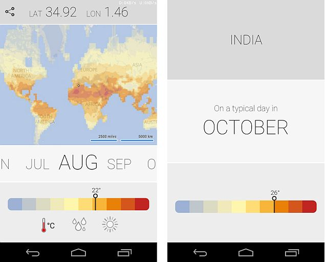 Microsoft Launches Climatology App for Android and Windows Phone