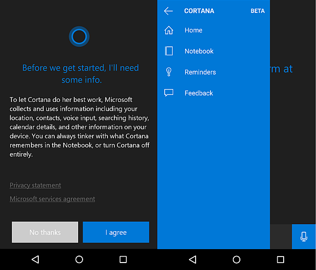 Cortana App for Android Leaks Ahead of Launch; Hyperlapse App Exits Beta