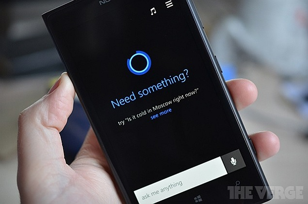 Windows Phone 8.1's rumoured Cortana voice-assistant app spotted online