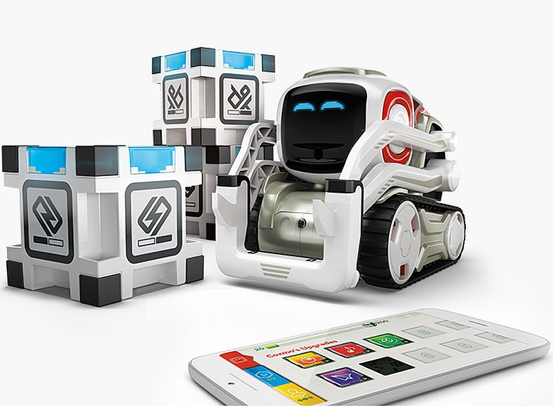 Anki's Wall-E Style Cozmo Robot for Kids Fits in the Palm of Your Hand