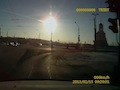 Russian meteorite images caught on dashboard cameras