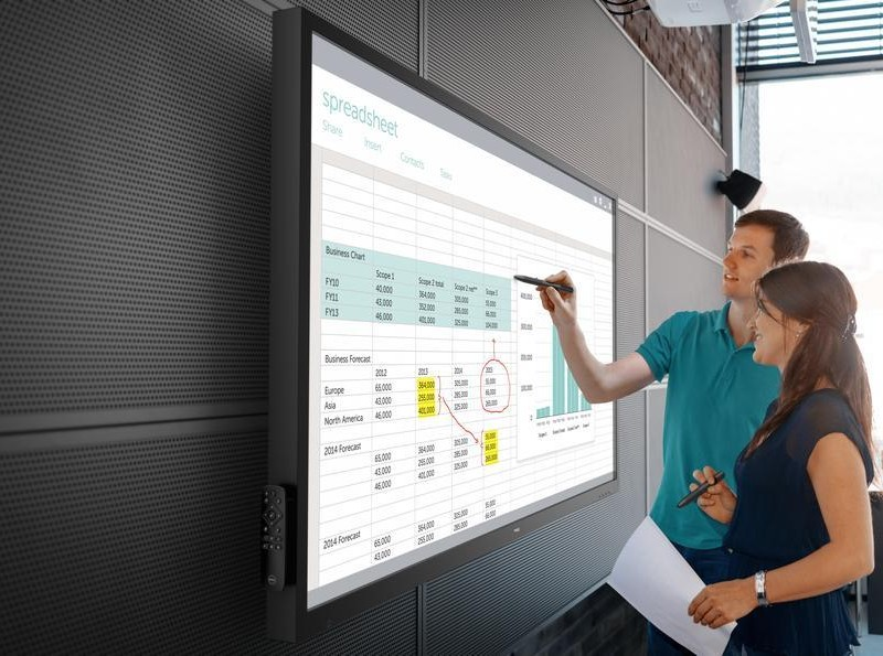 Dell Launches 70-Inch Interactive Display for Classrooms and Boardrooms