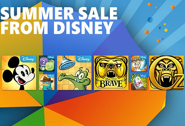 Disney Makes 9 Games Free for Windows Phone Users Till Wednesday
