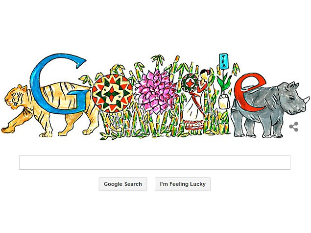 google home page design. doodle 4 google - india contest winner featured on google\u0027s homepage home page design