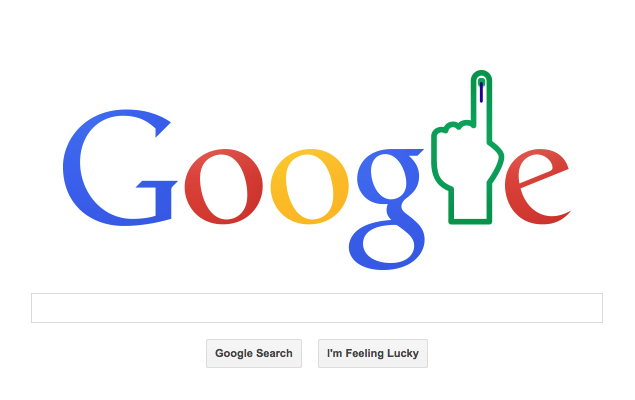 Election Results Day Observed With Google Doodle
