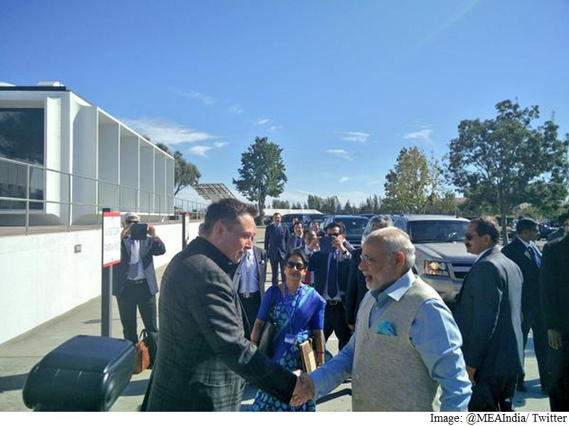PM Modi Discusses Battery Technology Benefits for India With Tesla CEO